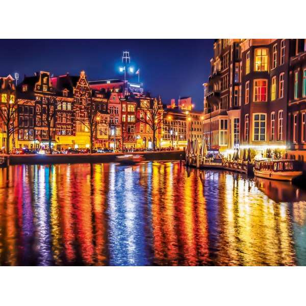 Amsterdam at Night - 500pc jigsaw puzzle