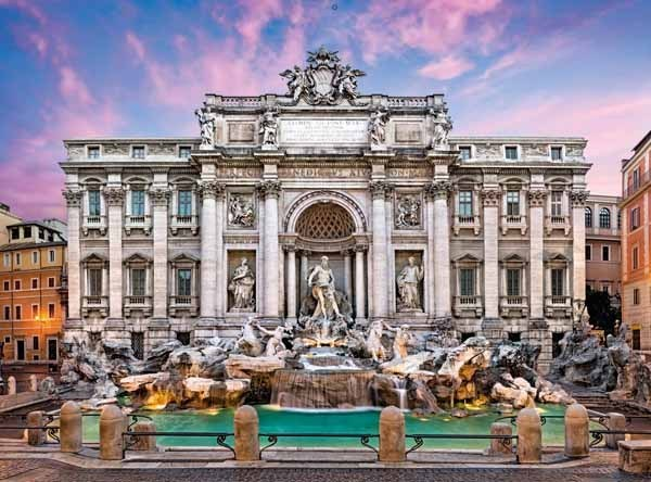 Trevi Fountain - 500pc jigsaw puzzle