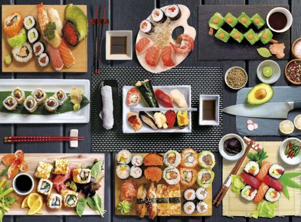 Sushi Selection - 500pc jigsaw puzzle