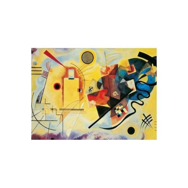 Yellow Red Blue jigsaw puzzle