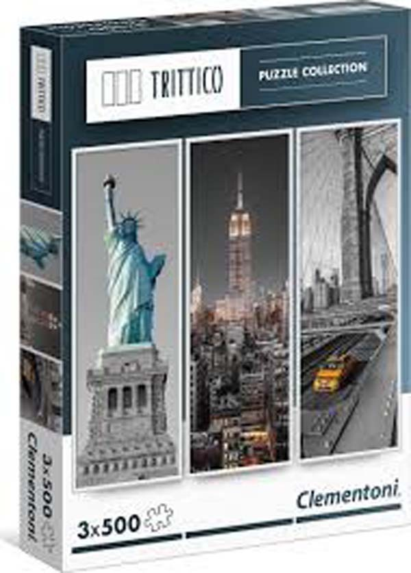 New York - 3 x 500pc jigsaw puzzle