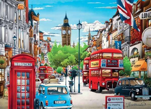 London - 1000pc jigsaw puzzle