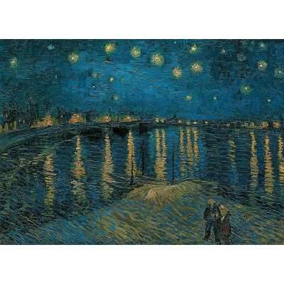 Over the Rhone - Vincent Van Gogh - 1000pc jigsaw puzzle