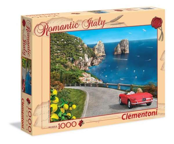 Romantic Italy - Capri - 1000pc jigsaw puzzle