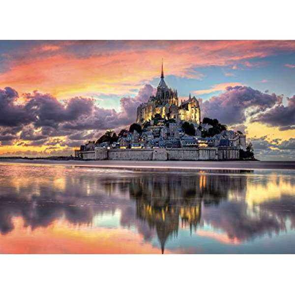 Magnificent Mount St Michael - 1000pc jigsaw puzzle