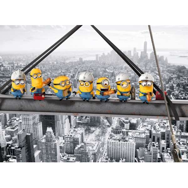 Minions - Lunch - 1000pc jigsaw puzzle