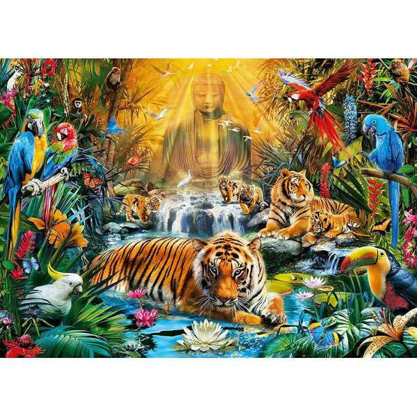Mystic Tigers - 1000pc jigsaw puzzle