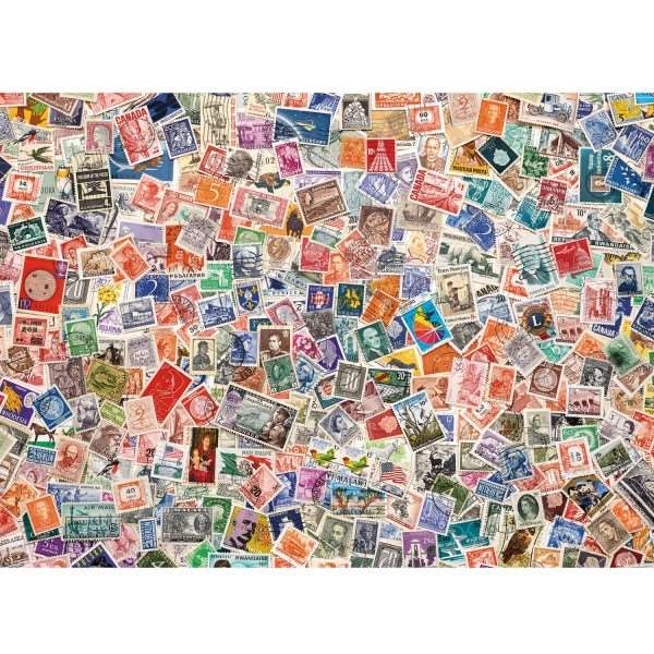 Stamps - 1000pc jigsaw puzzle