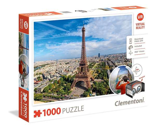 Virtual Reality - Paris - 1000pc jigsaw puzzle