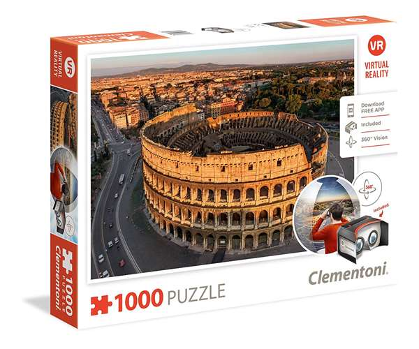 Virtual Reality - Rome - 1000pc jigsaw puzzle