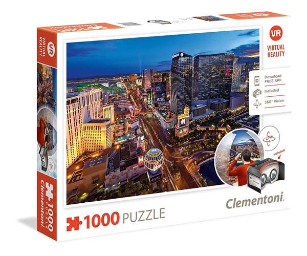 Virtual Reality - Las Vegas - 1000pc jigsaw puzzle
