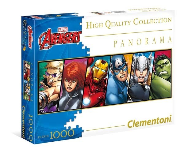 Avengers - Panoramic - 1000pc jigsaw puzzle