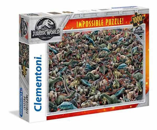 Impossible Puzzle - Jurassic World - 1000pc jigsaw puzzle