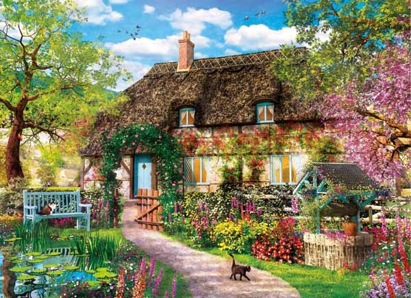 The Old Cottage - 1000pc jigsaw puzzle