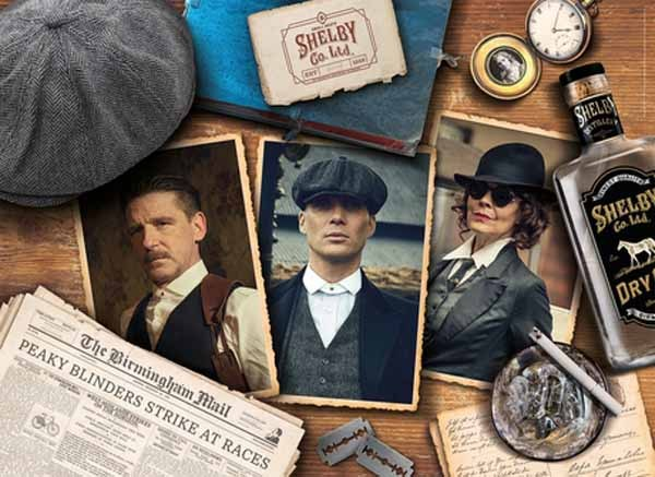 Peaky Blinders - 1000pcs jigsaw puzzle