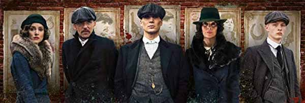 Peaky Blinders - Panoramic - 1000pc jigsaw puzzle
