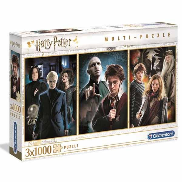 Harry Potter - 3 x 1000pc jigsaw puzzle
