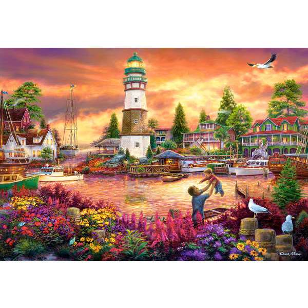 Love Lifted Me - 1000pc jigsaw puzzle