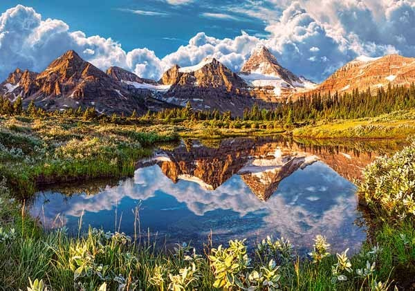 Mirror of the Rockies - 500pc jigsaw puzzle