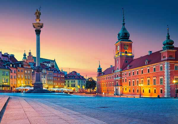 Castle Square in Warsaw - 500pc jigsaw puzzle