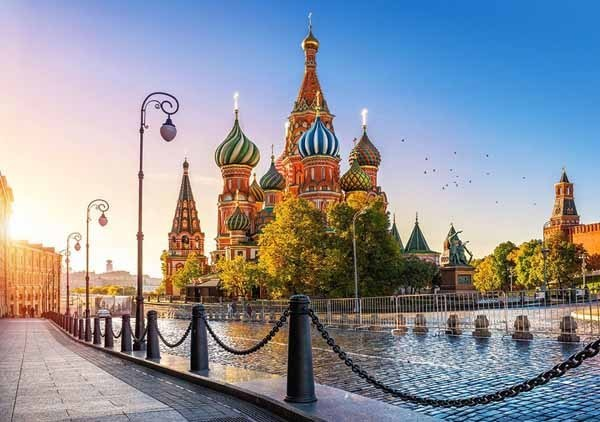 Saint Basils Cathedral, Moscow - 500pc jigsaw puzzle