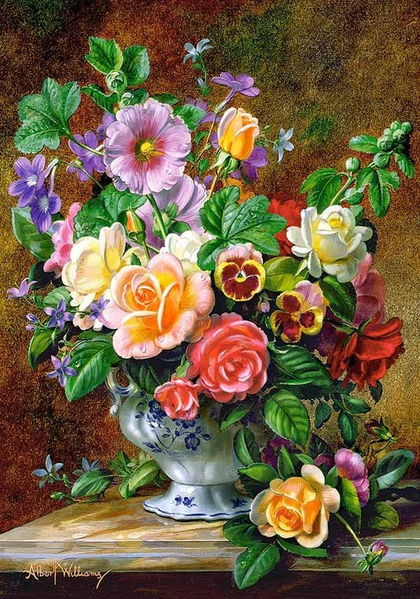Flowers in a Vase - 500pc jigsaw puzzle