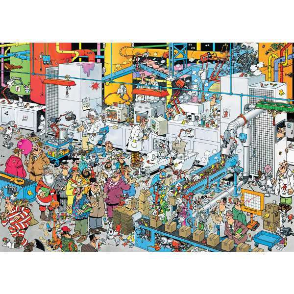 Candy Factory JVH - 500pc jigsaw puzzle