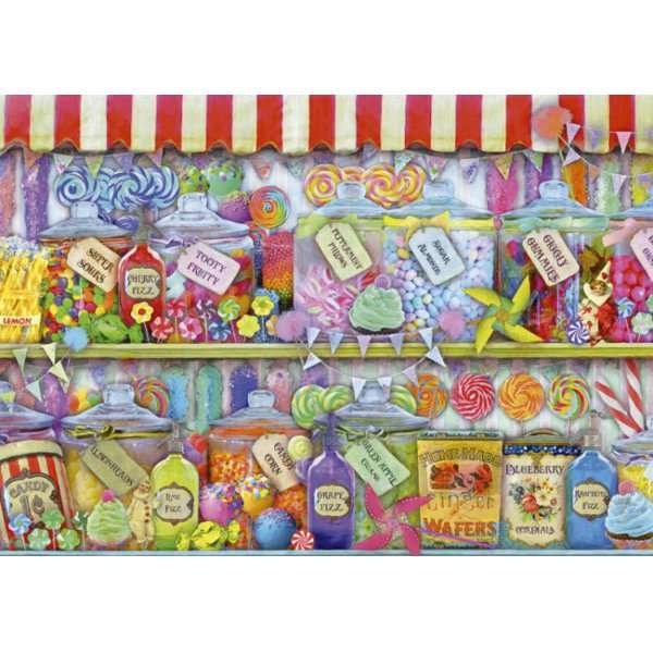 Candy Shop - 1000pc jigsaw puzzle
