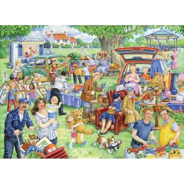 Car Boot Sale - 1000pc jigsaw puzzle