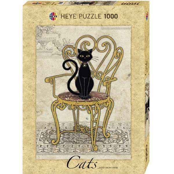 Cats - Chair - 1000pc jigsaw puzzle