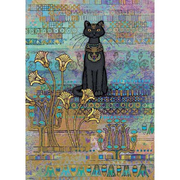 Cats - Egyptian - 1000pc Jigsaw Puzzle from Jigsaw Puzzles ...