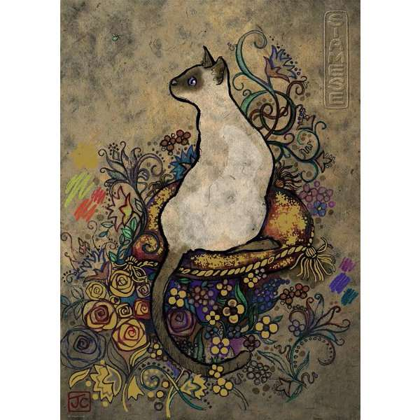 Cats - Siamese - 1000pc jigsaw puzzle