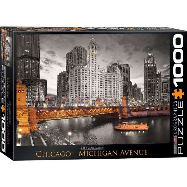 Chicago River - 1000pc jigsaw puzzle
