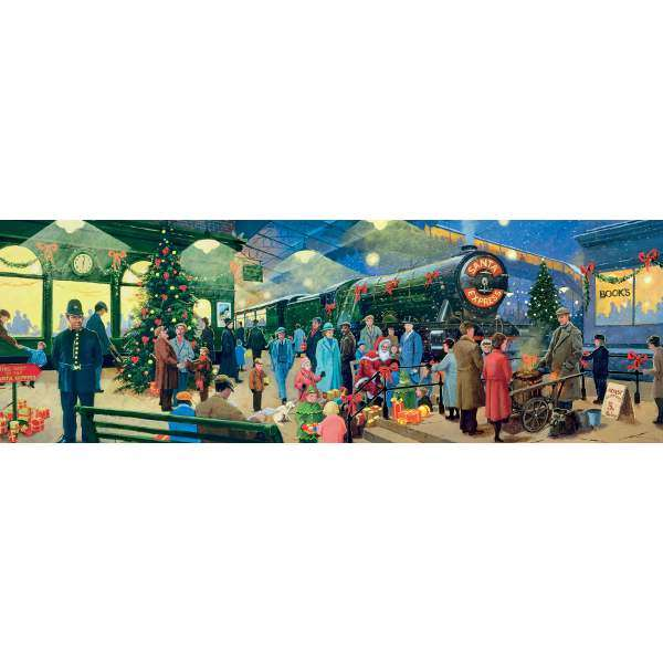 Christmas - Panorama - 1000pc jigsaw puzzle