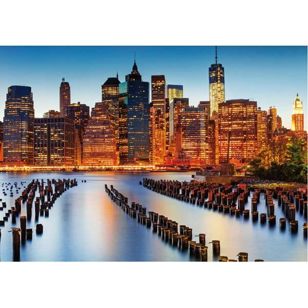 City of Skyscrapers - 1000pc jigsaw puzzle