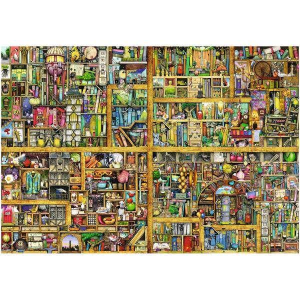 Colin Thompson Bookshelf 18000pc Jigsaw Puzzle From Jigsaw Puzzles Direct Order Today And