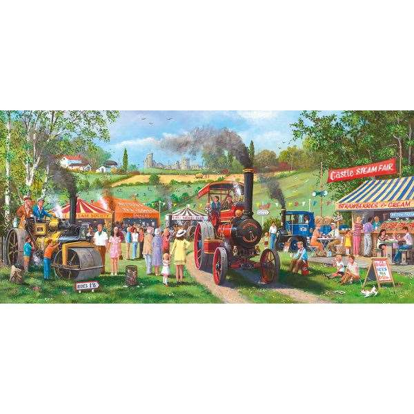 Come for a Ride - 636pc jigsaw puzzle