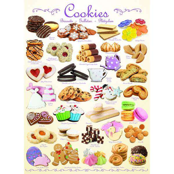 Cookies jigsaw puzzle