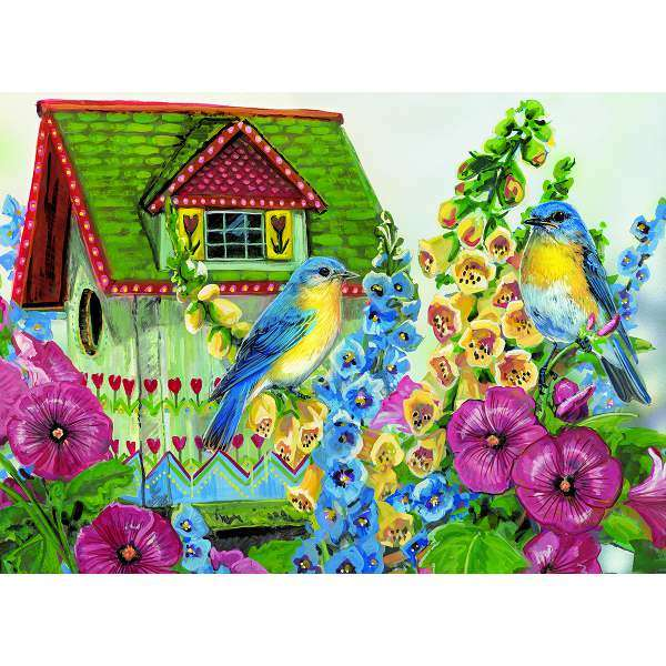 Country Cottage - Extra Large Piece jigsaw puzzle