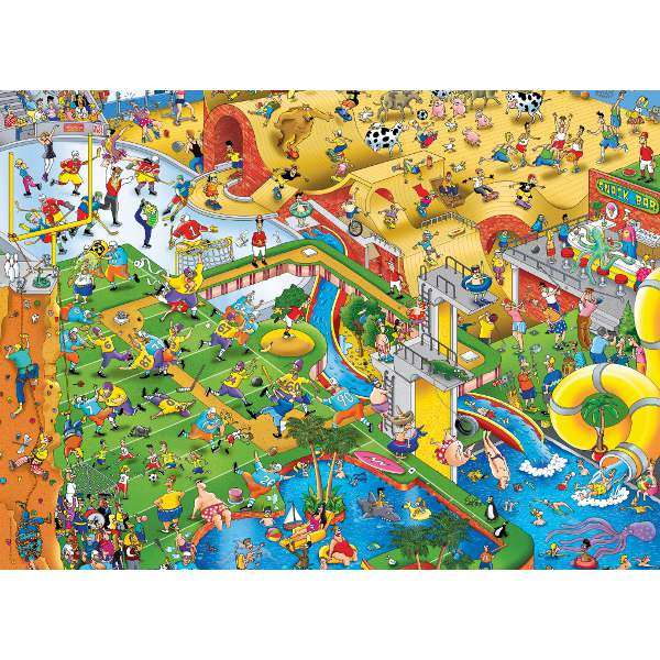 Crowded - 1000pc jigsaw puzzle