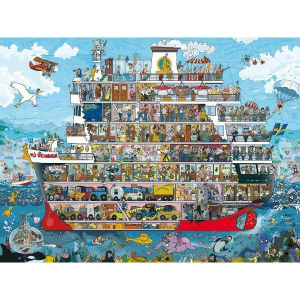 Cruise - 1500pc jigsaw puzzle