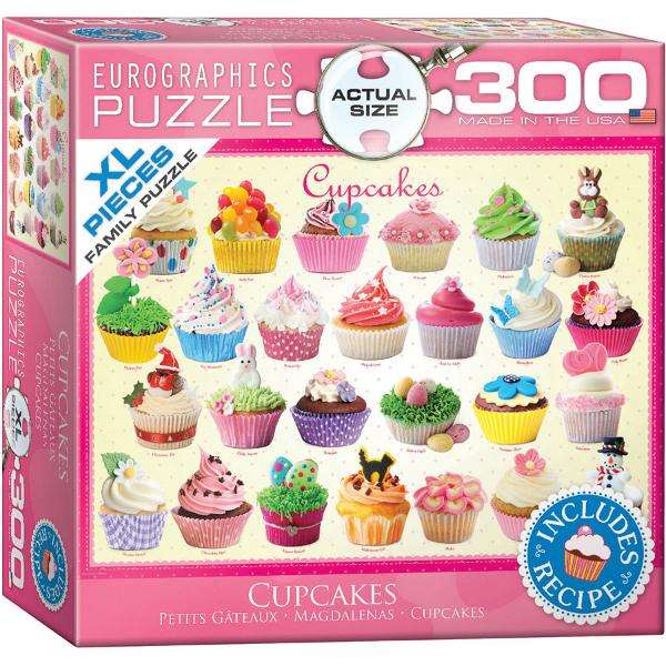 Cupcakes Extra Large Piece jigsaw puzzle