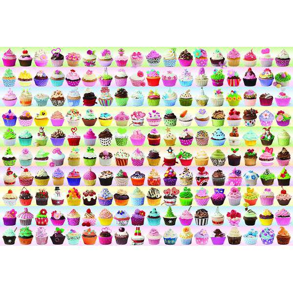 Cupcakes Galore jigsaw puzzle