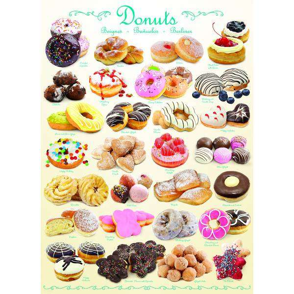 Donuts jigsaw puzzle