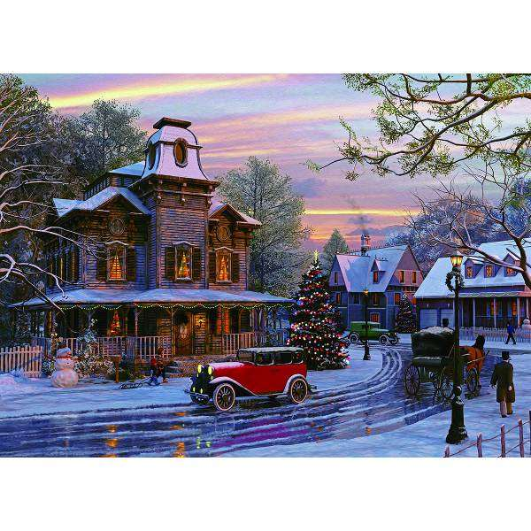 Driving Home for Christmas jigsaw puzzle