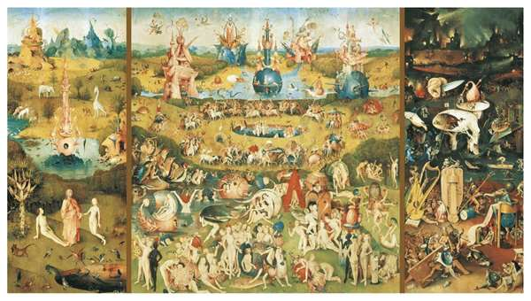 Garden Of Earthly Delights - 9000 Piece jigsaw puzzle