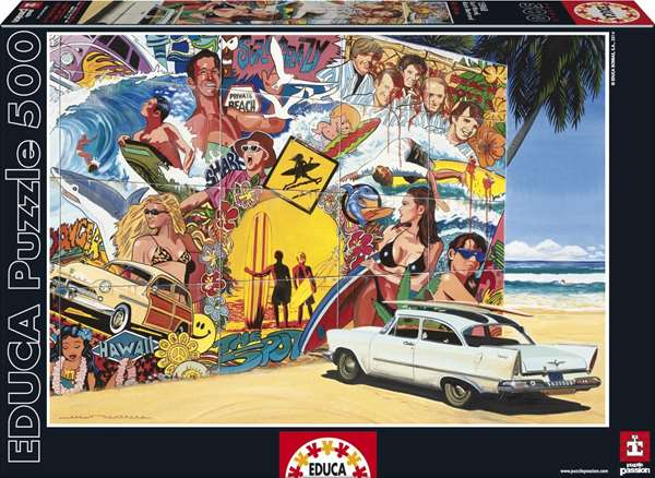 Surf Mural jigsaw puzzle