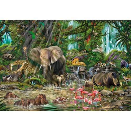 African Jungle jigsaw puzzle