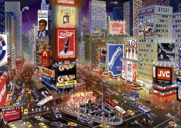 Times Square - New York - 8000pc jigsaw puzzle