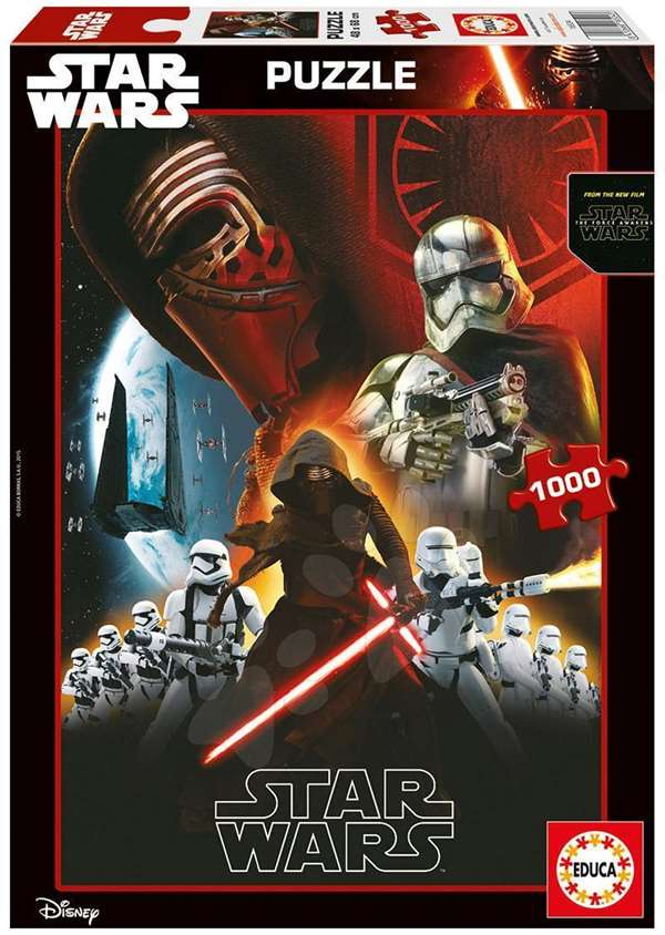 Star Wars - EPVII - 1000pc jigsaw puzzle
